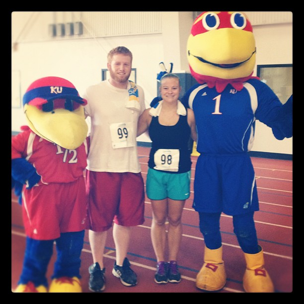 My second 5K -- July 2012. Steven placed THIRD in his age group at this race!